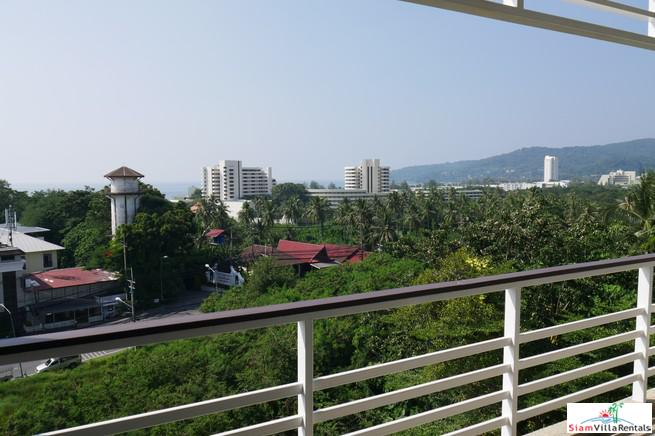 Chic One Bedroom Apartment with Sea Views at Karon