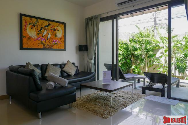 Luxury One Bedroom Pool Villa for Sale in the Laguna Area