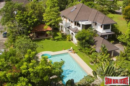 Baan Prangthong | Amazing Five Bedroom Pool Villa for Sale in Chalong