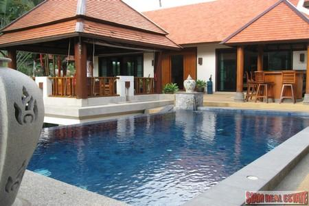 Stunning Hillside 4 Bedroom Pool Villa in Nai Harn