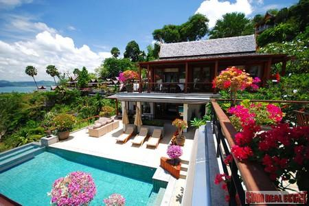 Hilltop 4-6 Bedroom Pool Villa in Surin