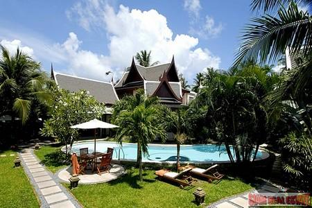 Luxury 8 Bedroom Villa Resort near Bang Tao Beach