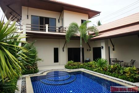 Tropical Three Bedroom House with Private Pool in Rawai