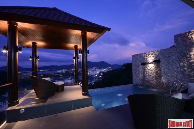 AW One Patong Villa | Stunning Five Bedroom Pool Villa with Sea View for Rent