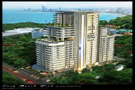 Breathtaking Views Available From This New Development  - South Pattaya