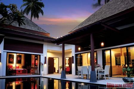 Contemporary Balinese Four Bedroom Pool Villa in Exclusive Kamala Resort
