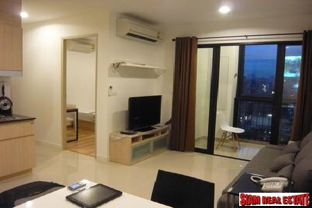 Ideo Ratchda-Huaykwang | Fully Furnished 2 Bedroom, 2 Bathroom Condo for Rent