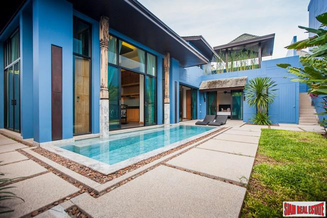 Modern-Sino Style Pool Villas with 1-2 Bedrooms in Cherng Talay