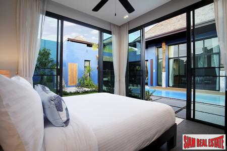 Modern-Sino Style Pool Villas with 10