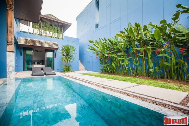 Modern-Sino Style Pool Villas with 2