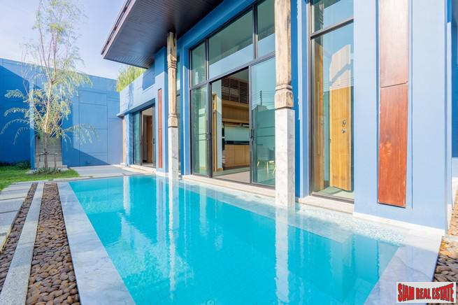 Modern-Sino Style Pool Villas with 3