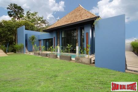 Modern-Sino Style Pool Villas with 8