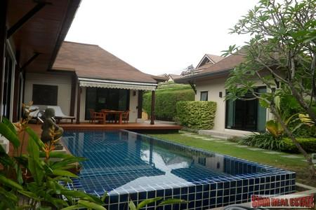 Tropical Three Bedroom Pool Villa in Nai Harn