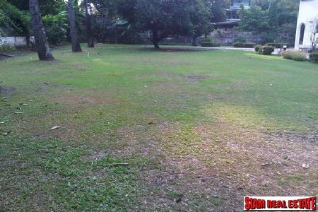 Land plot for sale on Chuaplerng, Rama IV Road.
