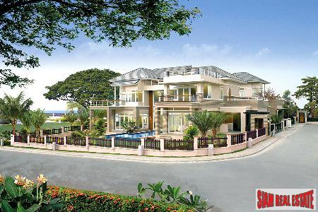 Superb New Housing Development Right On The Beach - Na Jomtien