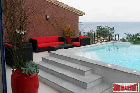 Modern Mediterranean 4-5 Bedroom Pool Villas with Sea Views in Kalim