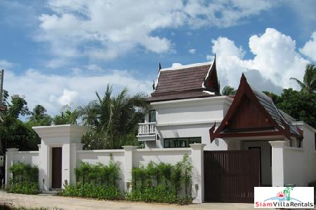 Exclusive Thai Style Three Bedroom Tropical Pool Villas in Cherng Talay