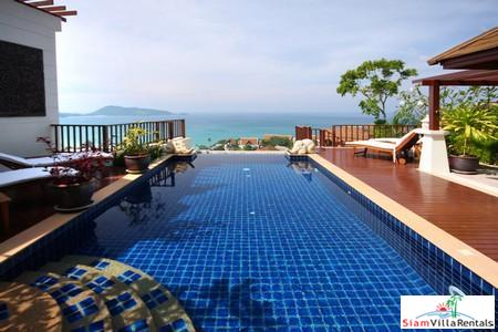 L'Orchidee Residence | Three Bedroom Estate with Sea Views in Patong for Holiday Rental
