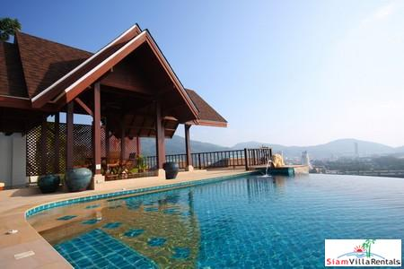 L'Orchidee Residence  | Four Bedroom Estate with Sea Views in Patong for Holiday Rental