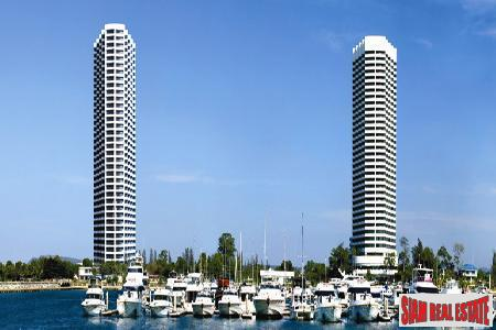 Thirty Six Story Luxury Condominium Situated In A Marina Location - Na Jomtien