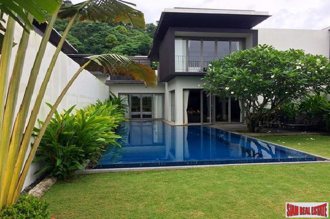 Sea View Three Bedroom Lap Pool Villa in a Prestigious Cape Yamu Development