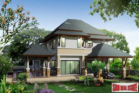 Homes Created In An Idyllic, Up-Market Location - East Pattaya