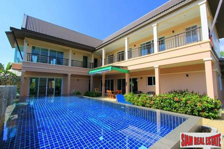 New Four Bedroom Thai Style House with Pool in Rawai