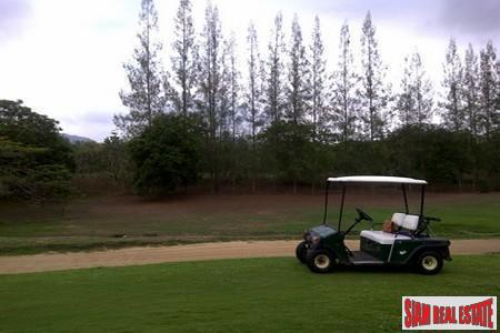 Over 2 Rai of Hua Hin Land in an Exclusive Golf Estate