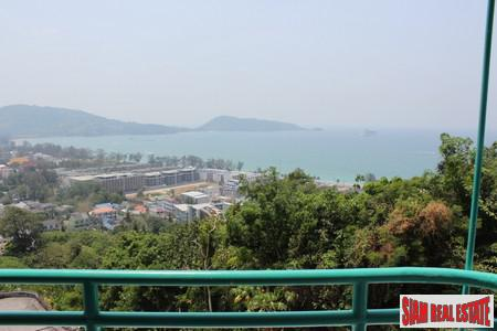 Sweeping Sea Views from a Three Bedroom House in the Patong Hills