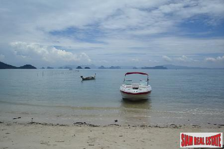 6.26 Rai of Beach Front Land on Koh Yao Yai