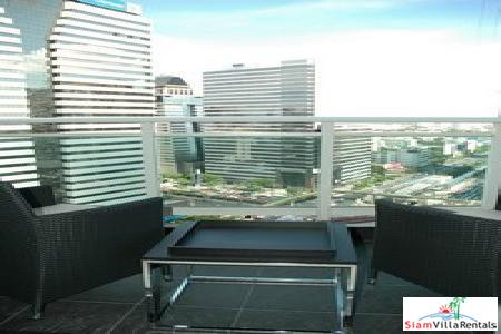 The Infinity | Luxurious High Rise Condo for Rent Near BTS Chong Nonsi