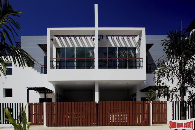 Ultra Modern Four Bedroom Pool Villas in New Kata Development