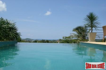 Contemporary Three Bedroom House with Private Pool and Sea View in Rawai