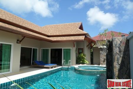 New Bali Style Two Bedroom Pool Villa in Rawai