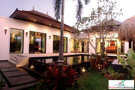 Elegant Asian Style Pool Villa with Two Bedrooms near Layan Beach
