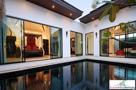 Contemporary Tropical Three Bedroom Pool Villa in Layan