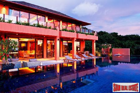 New Breathtaking Four Bedroom Villas with Two Private Swimming Pools in Cape Panwa