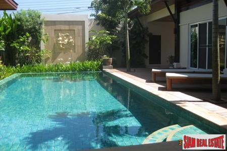 Beautiful Pool Villa 2 mins 3