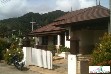 Contemporary Thai Style Villa with Three Bedrooms and Good Facilities