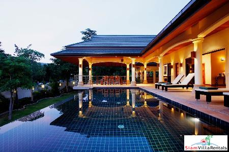 Spacious and Pristine 4 Bedroom Villa in quiet and convenient location close to Nai Harn beach.