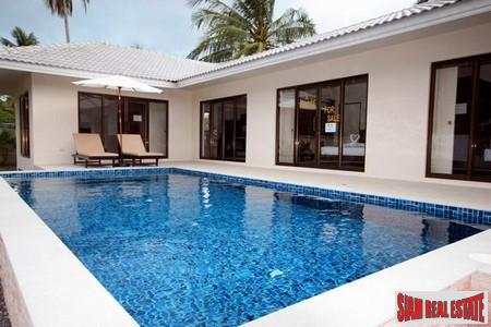 New Three Bedroom Pool Villa in Hua Thanon, Koh Samui