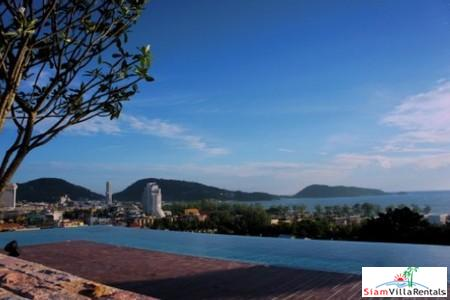 Modern One Bedroom Holiday Apartment in Patong Hills with Sea View