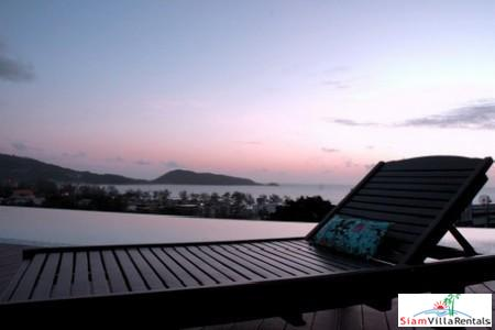 Contemporary One Bedroom Holiday Apartment in Patong with Mountain View