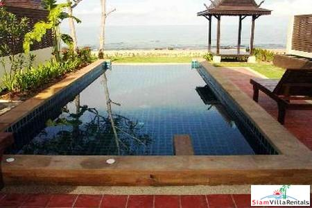 Beachfront Two Bedroom Thai Style Pool Villa on Koh Lanta, Krabi, Lanta Islands, Krabi