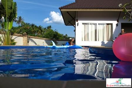 Thai-Bali Three Bedroom Pool Villa in a Picturesque Area near Ao Nang Beach, Krabi