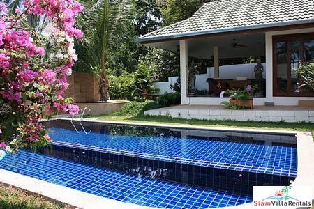 Tropical Four and Five Bedroom Pool Villas in Bophut, Koh Samui