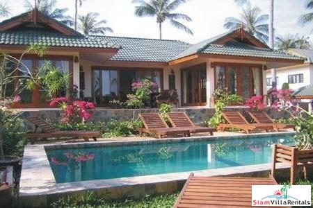 Deluxe Four Bedroom Villas with Private Swimming Pools in Bophut, Koh Samui