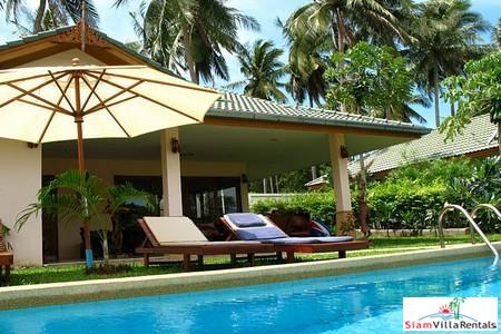 Holiday Pool Villas with Four Bedrooms in Bophut, Koh Samui