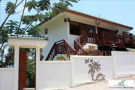 Seaview One Bedroom Condo in a Tropical Resort in Bophut, Koh Samui