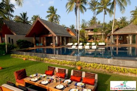 Spectacular Six Villa Beachfront Property in Lipa Noi, Samui